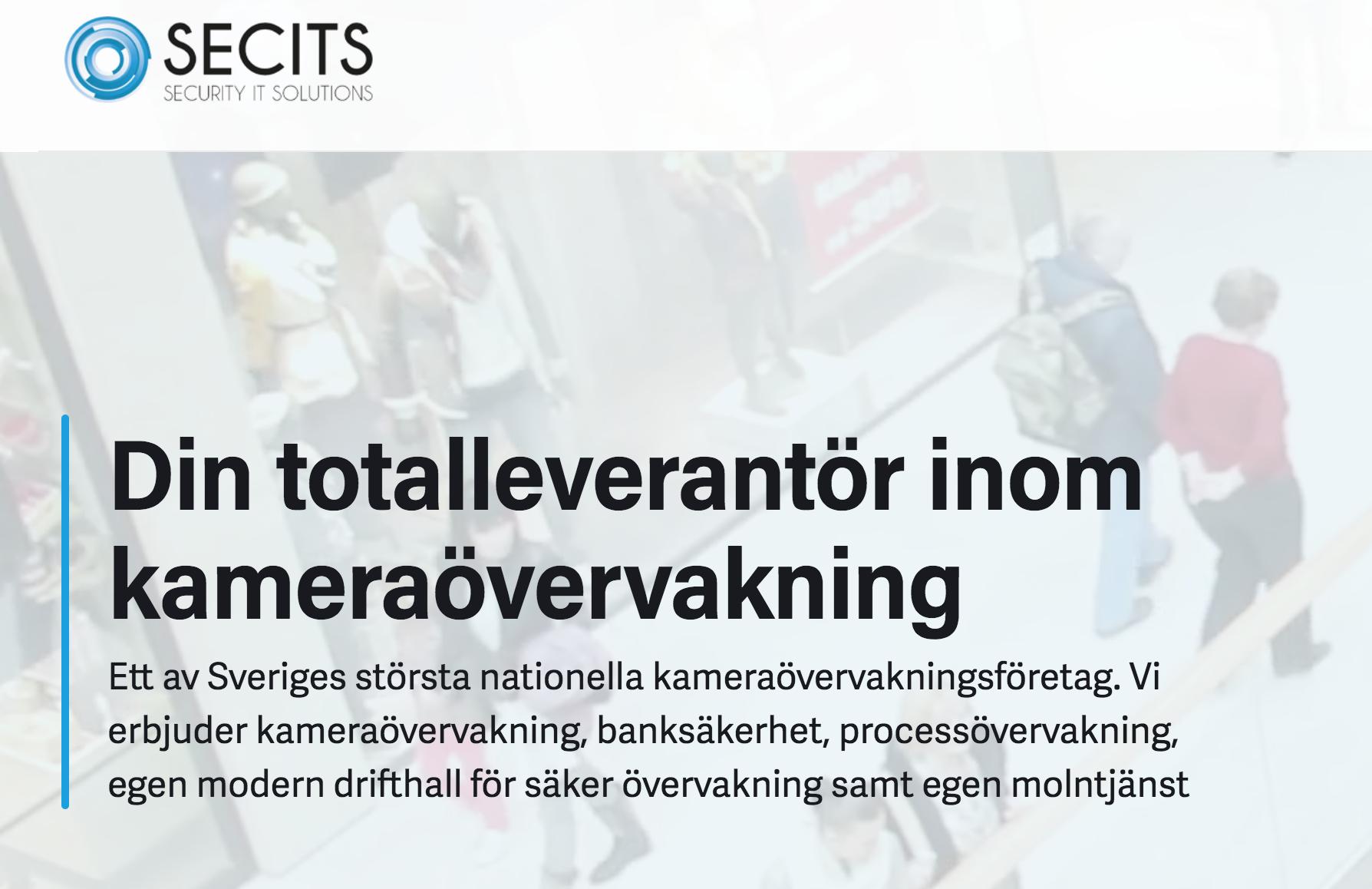 Case: Så använder SECITS Sweden AddSecures lösning för kameraövervakning